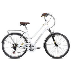 "Велосипед 26"" Stinger Victoria, цвет белый, размер 15"""