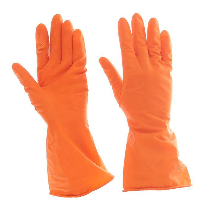 Перчатки латексные, размер S, 40 г., цвет МИКС