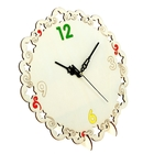 """Деревянные часы-раскраска """"Время"""""""
