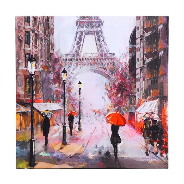"Картина на подрамнике ""Дождливый Париж"" 40*40 см - фото 282129582"