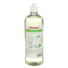 Концентрированный гель для мытья посуды  «Зеленый чай» UNICARE, ПЭТ, пуш-пул, 1л