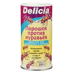 Средство для борьбы с муравьями DELICIA, порошок, 100 г