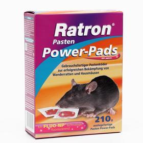Приманка порционная мягкая RATRON Pasten от крыс и мышей в пакетах, 210 г
