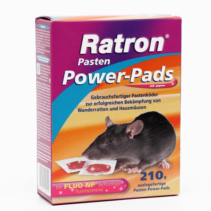 Приманка порционная мягкая RATRON Pasten от крыс и мышей в пакетах, 210 г - фото 282130657