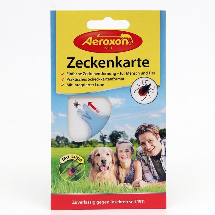 Пластиковая карта AEROXON для безопасного извлечения клещей - фото 282130658