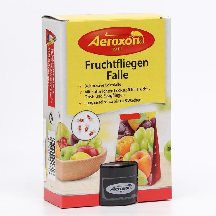 Липкая ловушка AEROXON для фруктовых мушек - фото 282130670