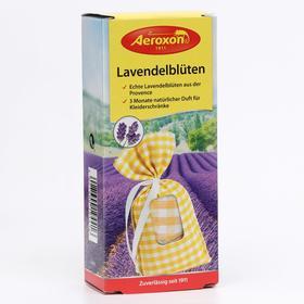 Средство для защиты от моли AEROXON, мешочки с цветками лаванды