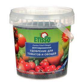 Гранулированное комплексное удобрение ETISSO Tomaten Vital-Dunger для томатов и овощей, 1 кг