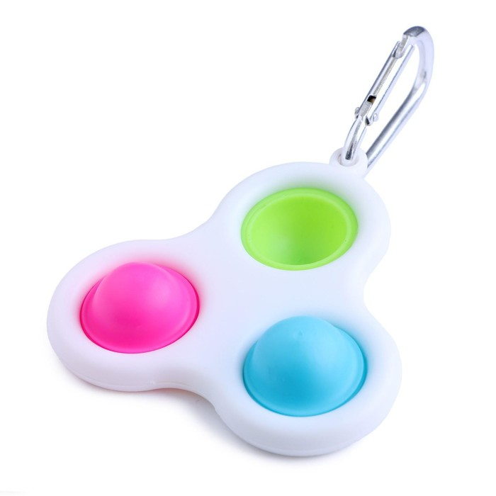 Антистресс игрушка «Симпл Димпл», тройная, цвет МИКС - фото 282130701