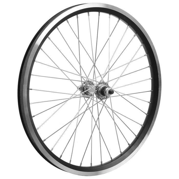 """Колесо 20"""" переднее TRIX, обод двойной алюминиевый, 36отв, под гайку - фото 282131469"""