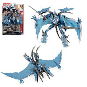 Робот «Дракон», трансформируется, цвет синий