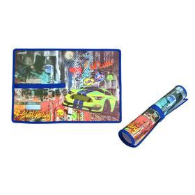 Накладка на стол пластиковая, А3, 430 х 290 мм, 500 мкм, Street Racing