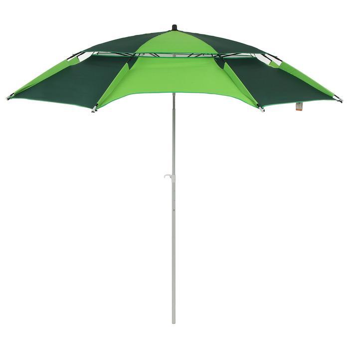 Зонт пляжный d=240 см, h=220 см,  цвета микс - фото 282131988