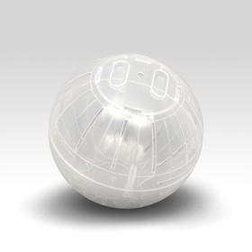 Шар для хомяков Импорт, 12 см, прозрачный
