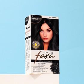 Краска для волос FARA Eco Line 1.0 чёрный, 125 г
