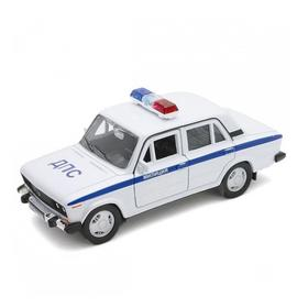 Модель машины «LADA 2106 Милиция ДПС», масштаб 1:34-1:39
