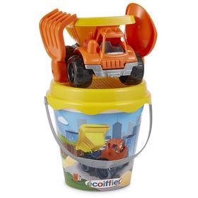 Детский набор для песочницы ведерко с грузовиком с аксессуарами, 17см
