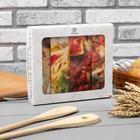 """Набор полотенец """"Этель"""" Italian food 4 шт, 100% хлопок - фото 987745"""