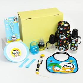 Подарочный промобокс, ХИТЫ для малышей «Пингвин» тм Mum&Baby