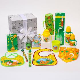 Подарочный промобокс, ХИТЫ для малышей «Леопард» тм Mum&Baby
