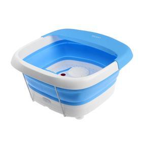 Массажная ванночка для ног Еcon ECO-FS101, электрическая, 60 Вт, 2 реж., ИК-подогрев, белая