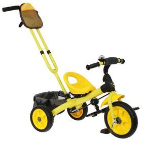 Велосипед трехколесный Лучик Vivat 3, цвет желтый