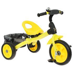 Велосипед трехколесный Лучик Vivat 4, цвет желтый