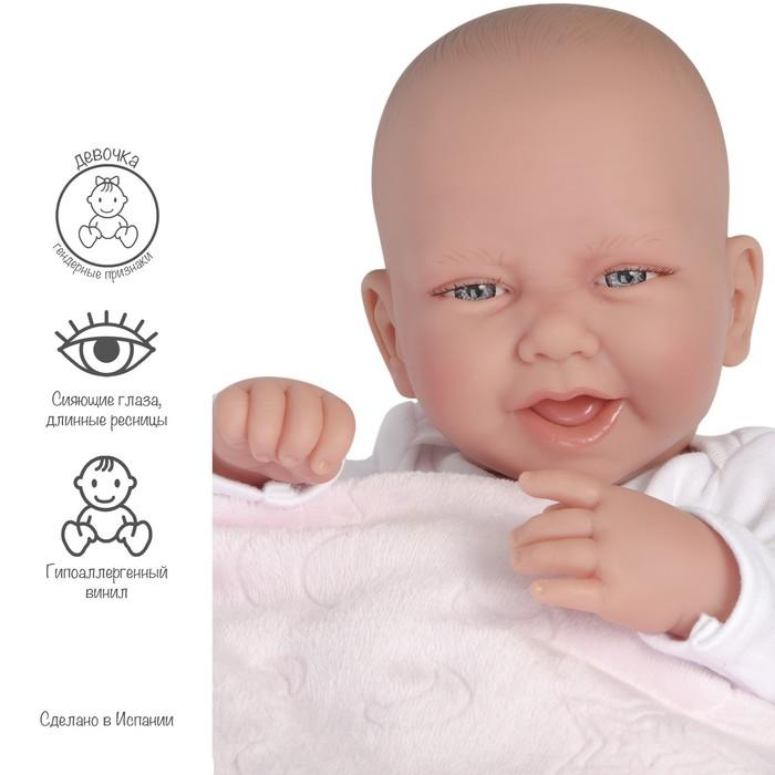 Кукла «Младенец Ирен», в розовом, 42 см - фото 1623400