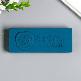 """Сургуч в плитке """"Astra&Craft"""" 200 гр, синий"""