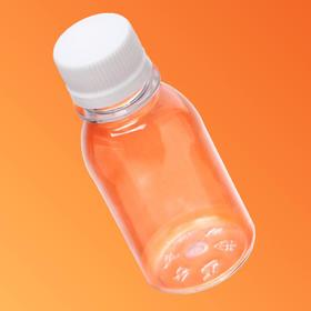 """Бутылка с крышкой """"Круглая"""", 0,1 л, 28 мм"""