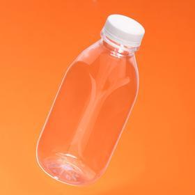 """Бутылка с крышкой """"Квадратная"""", 0,5 л, 38 мм"""