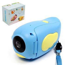 """Детская видеокамера """"Птичка"""", цвет синий"""