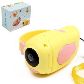 """Детская видеокамера """"Птичка"""", цвет жёлтый"""