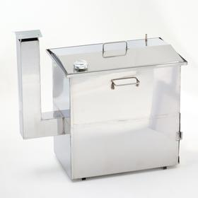 Коптильня с печью, малая, 50х30х50см