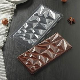 """Форма для шоколада 18х8 см """"Геометри"""""""
