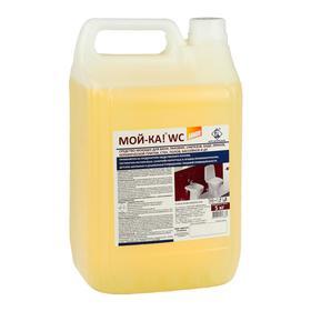 Моющее средство для сантехники Мой-ка, Лимон, 5 кг