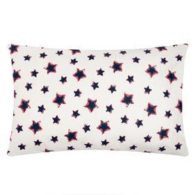 "Наволочка ""LoveLife"" Blue stars 40х60 см,100% хлопок, сатин"