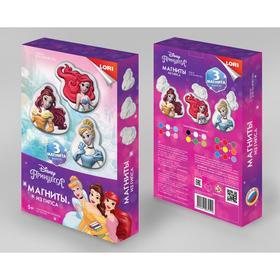 """Магниты из гипса Disney """"Очаровательные принцессы"""" Мд-024"""