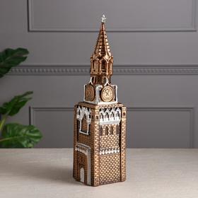 """Копилка """"Кремль"""", бронзовый цвет, 40 см"""