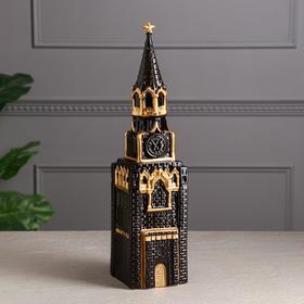 """Копилка """"Кремль"""", чёрная глазурь, 40 см"""