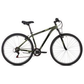 """Велосипед 26"""" Foxx Atlantic, 2021, цвет зеленый, размер 16"""""""