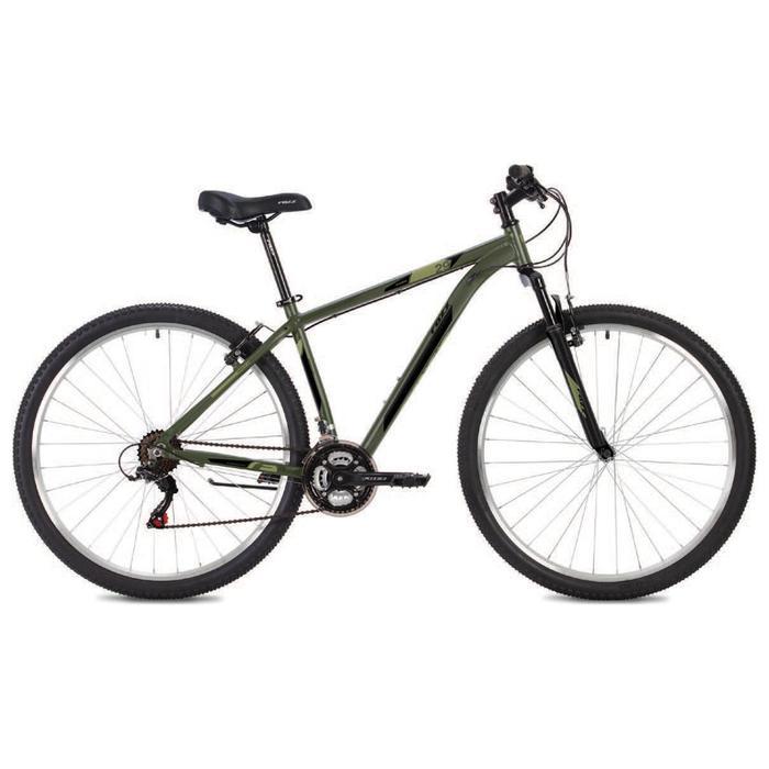 """Велосипед 26"""" Foxx Atlantic, 2021, цвет зеленый, размер 16"""" - фото 1629787"""