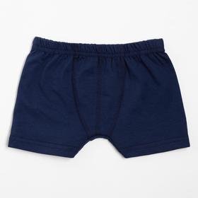 Боксеры для мальчика, цвет синий, рост 134 см (36)