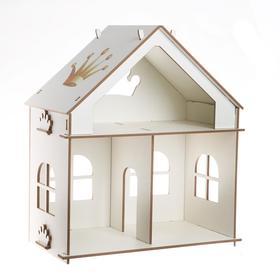 """Кукольный дом """"Суфле"""", серия """"Короны"""",  (модель без мебели) 21НМ23"""