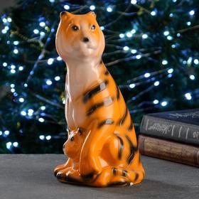 """Копилка """"Тигрица с тигренком"""" 30см"""