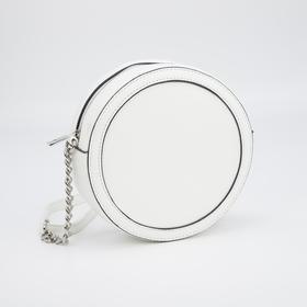 Кросс-боди, отдел на молнии, регулируемый ремень, цвет белый