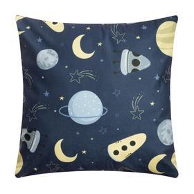 Чехол на подушку Крошка Я «Космос» 40 х 40 см, 100% п/э