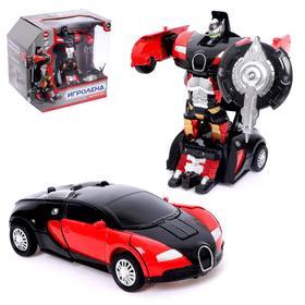 Робот инерционный «Автобот», трансформируется, с элементами из металла, МИКС