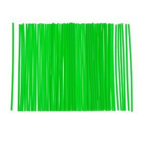 Декоративные накладки (трубки) на спицы мотоцикла, цвет зеленый, набор 72 шт