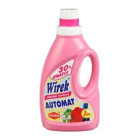 Жидкость для автоматической стирки цветных тканей, Wirek 1 л